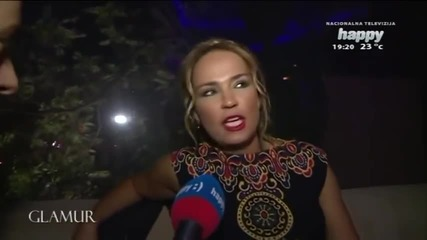 Ana Nikolic - Otvaranje bar cluba Angels - Glamur - (TV Happy 2014)