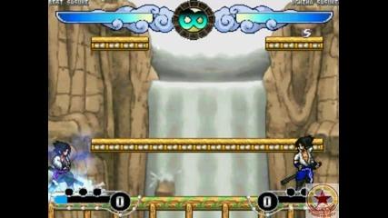Naruto Battle Arena Sasuke Vs Sasuke - In The End and Numb