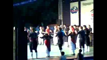 Гръцки танцов ансамбъл - международен фолклорен фестивал Велико Търново