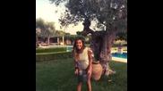 Belen Rodriguez e la Ice Bucket Challenge!