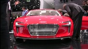 Audi E - Tron Concept @ 2009 Frankfurt Auto Show - Car and Driver