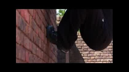 Parkour Cat Leap 180