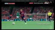 Барселона оголи зъби в дебюта на Суарес! 18.08.2914 Барселона - Леон 6:0