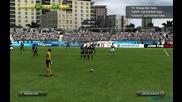 Пряк свободен удар от 39 ярда! | Fifa 13