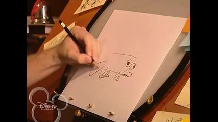 Как да нарисуваме Пери от Финиъс и Фърб