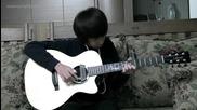 Изпълнение на 15 годишно момче на китара * Bruno Mars - Grenade