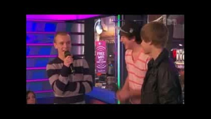 Ryan and Chaz surprise Justin Bieber on The Seven