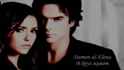 В друг живот / Damon + Elena /
