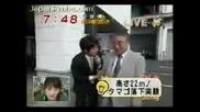Японец Хвърля Сурово Яйце От 22м. Без Да Го Счупи