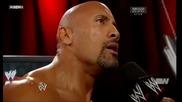 Скалата говори за мача си на Survivor Series