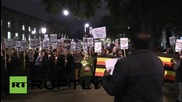 UK: Hundreds of pro-refugee protesters march on Downing Street