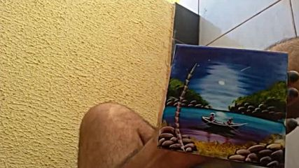 Изкуство пресъздадено върху плочка