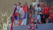 Кратка радост за сръбските фенове в Калининград