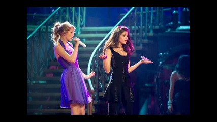 Selena Gomez with Taylor Swift !! new concert