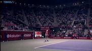 Kei Nishikori - The First Man To Regain The Tokyo Title