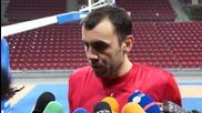 Стойков: Уважаваме противника, но с подкрепата на феновете можем да победим