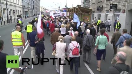 Poland: Anti-Bandera demo remembers UPA massacre of Poles in Volhynia
