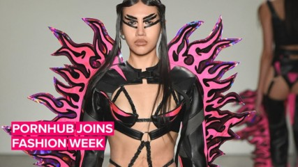 NYFW gets kinky with Pornhub models at Namilia