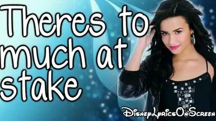 Demi Lovato - Cant Back Down karaoke