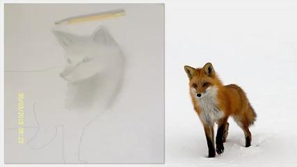 Аз рисувам лисица