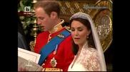 На Живо ! Сватбата на Уилям и Кейт Мидълтън Част 4