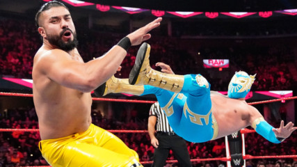 Sin Cara vs. Andrade: Raw, Oct. 21, 2019