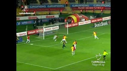 Galatasaray 3:0 Ankaragucu (14.03.2010)