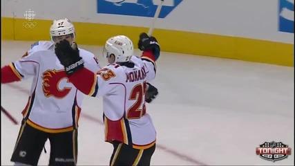 Шон Монахан гол - Calgary Flames