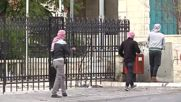 State of Palestine: Black smoke rises as Bethlehem clashes continue