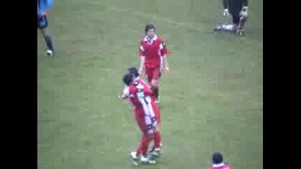 Черноморец - Цска 2:8(7ми Гол Сезон 2002/03)