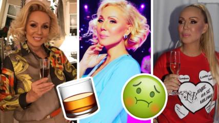 Лепа Брена за най-голямото си напиване! Певицата омешала алкохоли и...