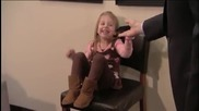 Jimmy Surprises Bieber Fan . . . 3 Year Old Girl Crying Over Justin Bieber