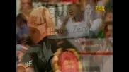 Chris Jericho interupts a Stone Cold Steve Austin promo