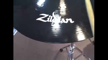 Zildjian Pitch Black Cymbals