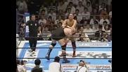 G1 CLIMAX Giant Bernard vs. Shinjiro Otani 08/13/08