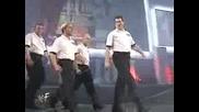 Wwf Invasion 22.07.2001 - Wwf Referee Earl Hebner vs Alliance Referee For Alliance Nick Patrick