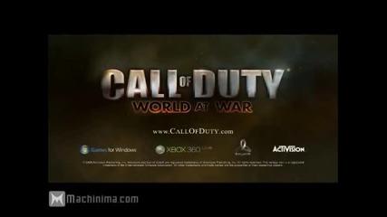 Call of Duty: World at War Трейлър