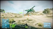 Battlefield 3 epic moments - jet drift