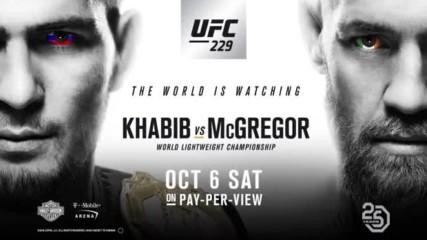 Ufc 229 Khabib vs Mcgregor Weigh-in Faceoff 06.10.2018 г.