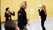 Helena Paparizou Secret Rehearsal Lidkoping - Melodifestivalen 2014