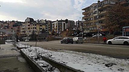 Сложиха светофар на най-опасното кръстовище в Благоевград!