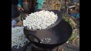 Как се правят пуканки в Индия