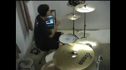 Travis Barker Busta Rhymes Remix - Dont Touch Me Drum Cover