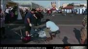 Репортер строшава ледена скулптура !