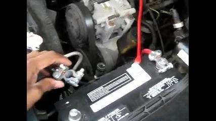 свързване на усилвател и буфер в кола part 1