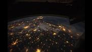 Ето как изглежда Земята от Космоса през нощта