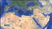 Боен самолет нападна гръцки танкер
