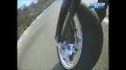 Camera embarquee roue avant Aprilia Svx 550