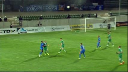 Репортаж от Лудогорец - Левски /0:0/, първи полуфинал за Купата на България