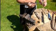 Вижте как от Пластмасови Бутилки можете да си Направите Супер Здраво Въже!
